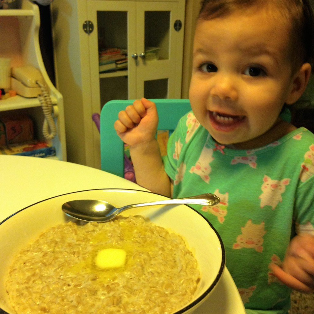 Buttery Oatmeal