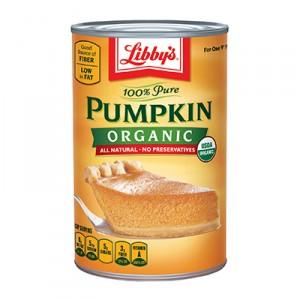 Libbys organic pumpkin
