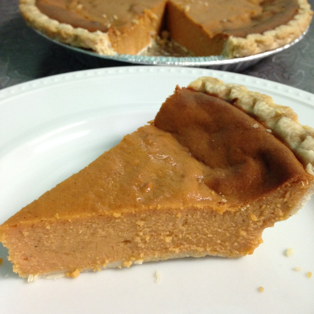 Organic Sweet Potato Pie